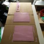 Etape la plus importante : peindre en rose !