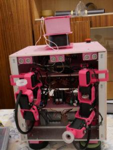 Ventouses articulées Robot (AX12)